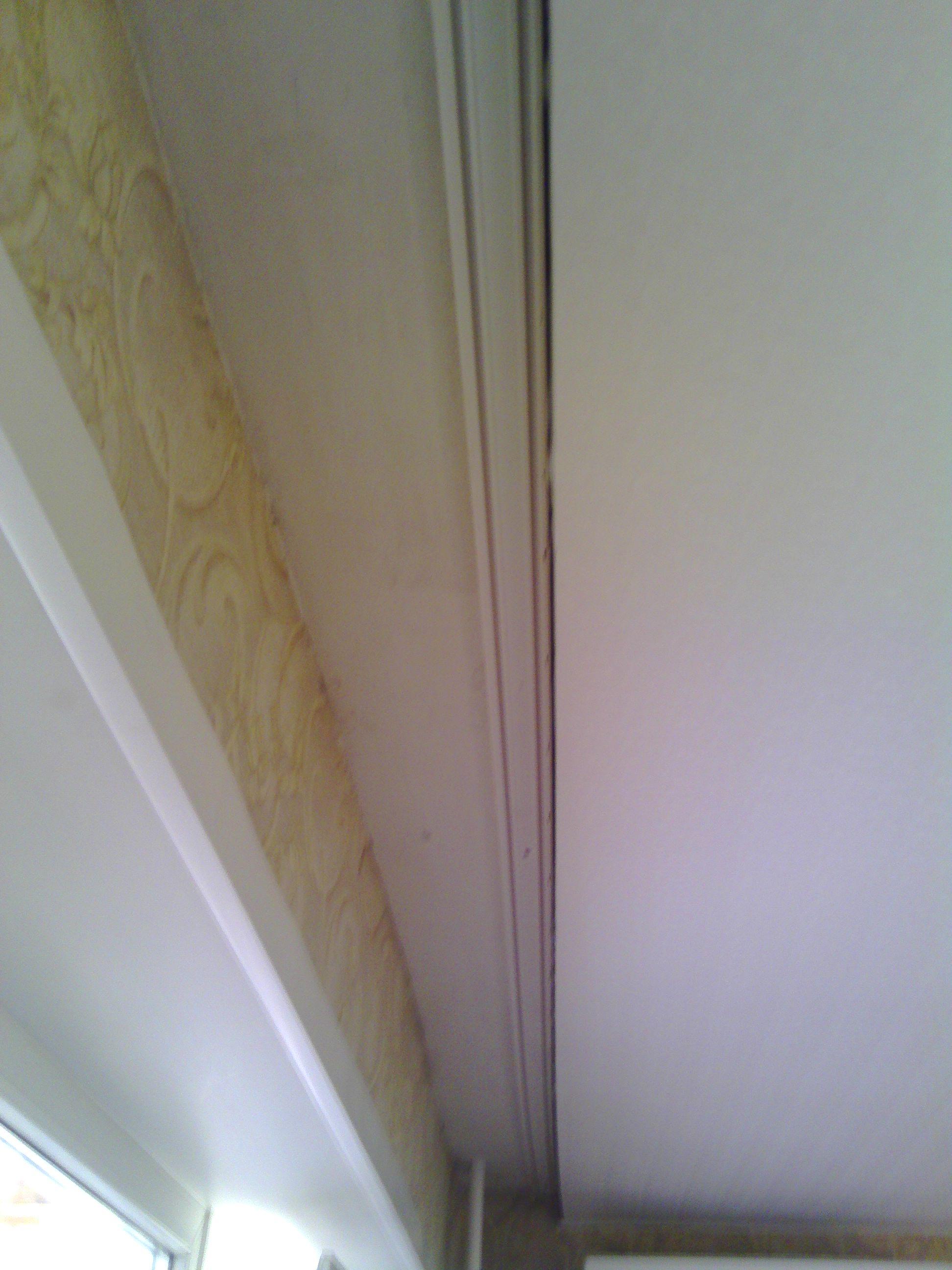 Как сделать нишу для штор в натяжном потолке своими руками 63