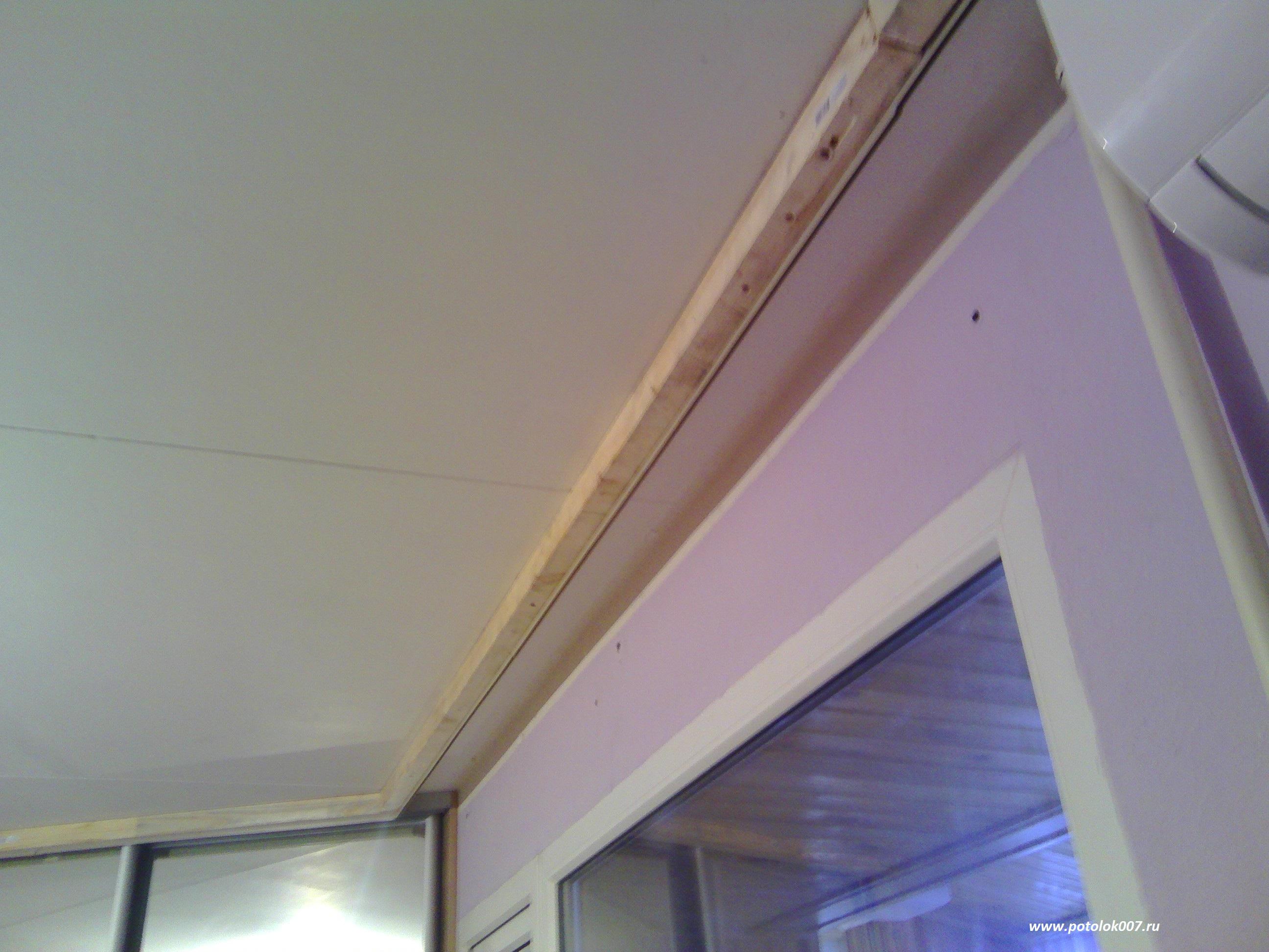 Ниша для штор потолок своими руками 267